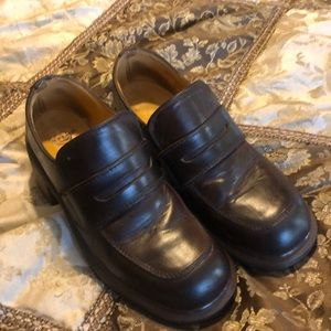 Dr Martens brown leather women's shoes Size 6 8219
